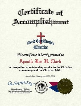 wcm certificate of accomplishment